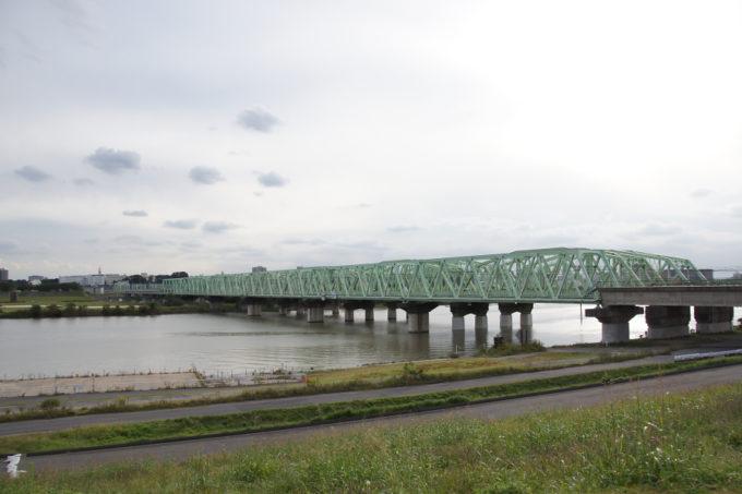 電車の鉄橋