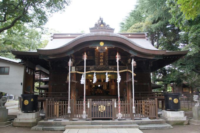 川口神社本殿