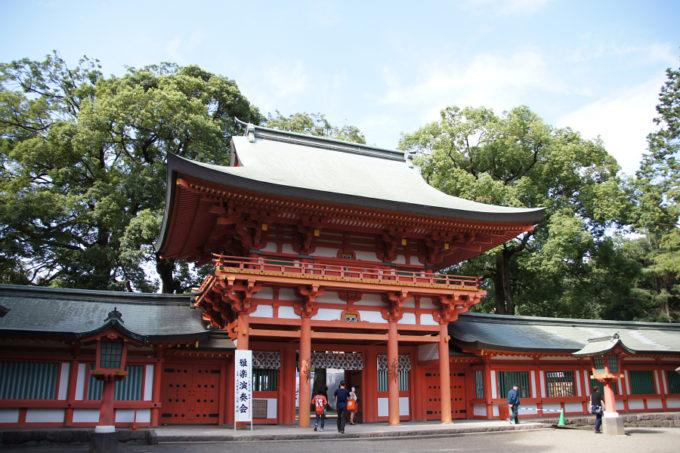 氷川神社山門